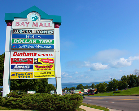 Bay Mall Sign