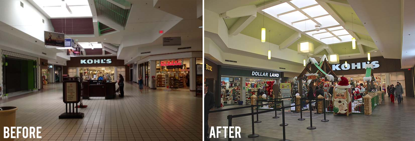 Before and After- Kohls