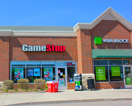 Game Stop-HR Block